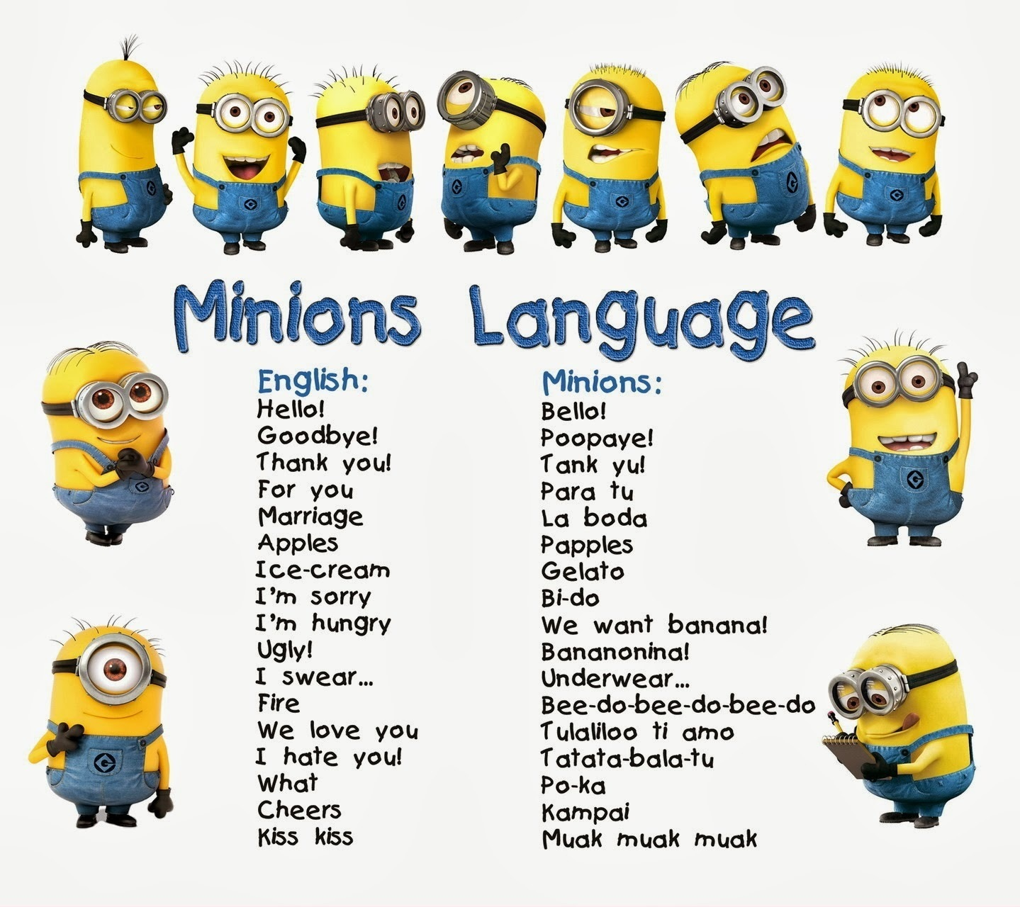 Minions Language 14406487271659624574 minions language pincaption