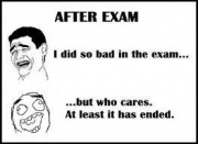 After exams
