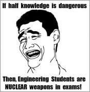 People say half knowledge is dangerous